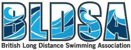 British long distance swimming association logo