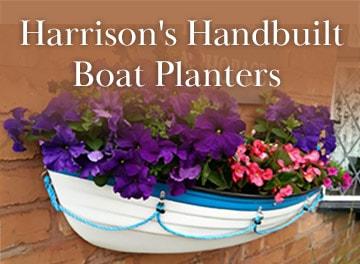 Harrison's Handbuilt Boat Planters